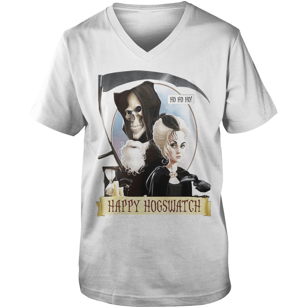 Happy Hogswatch Harry Potter v-neck