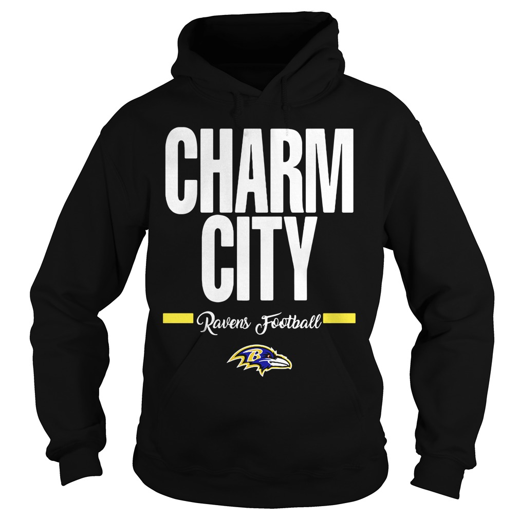 Official Charm City Ravens Football Baltimore Ravens hoodie