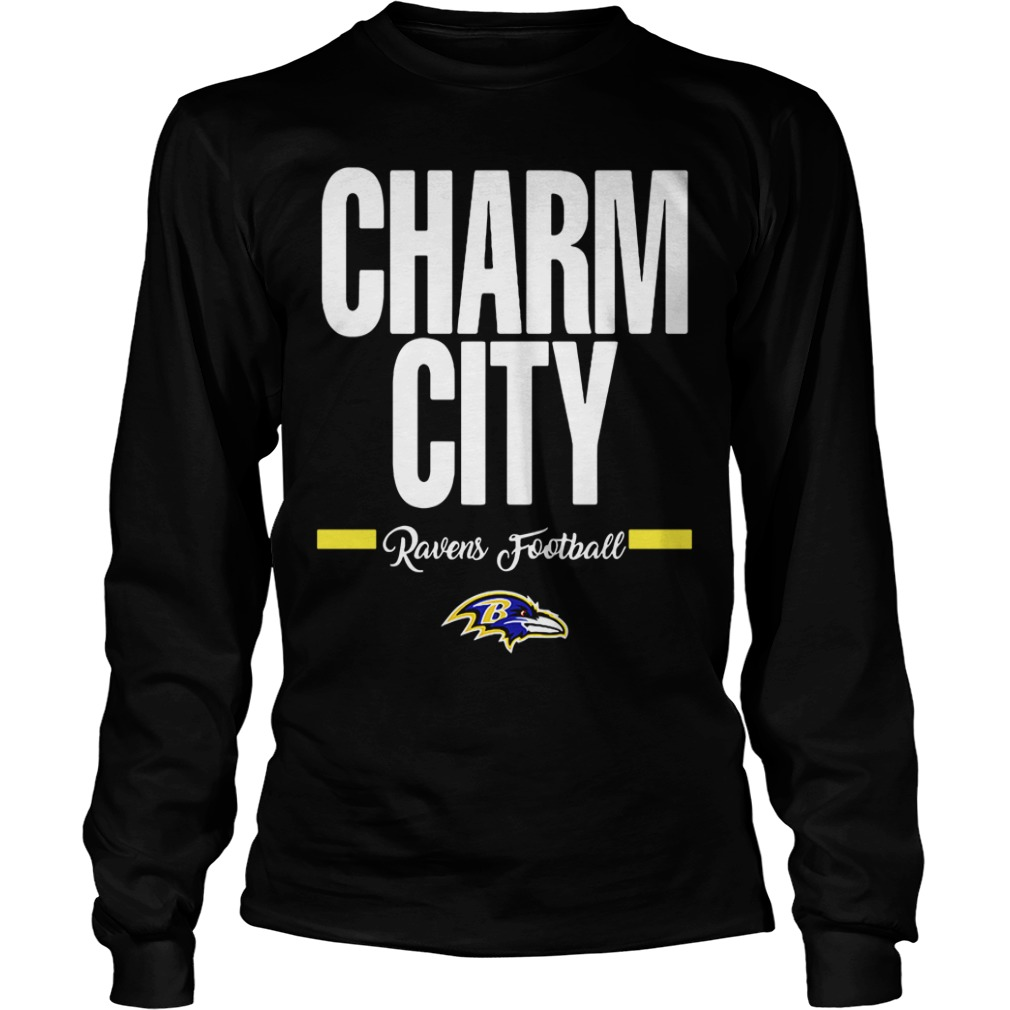 Official Charm City Ravens Football Baltimore Ravens long sleeve