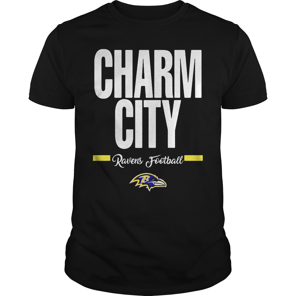 Official Charm City Ravens Football Baltimore Ravens unisex