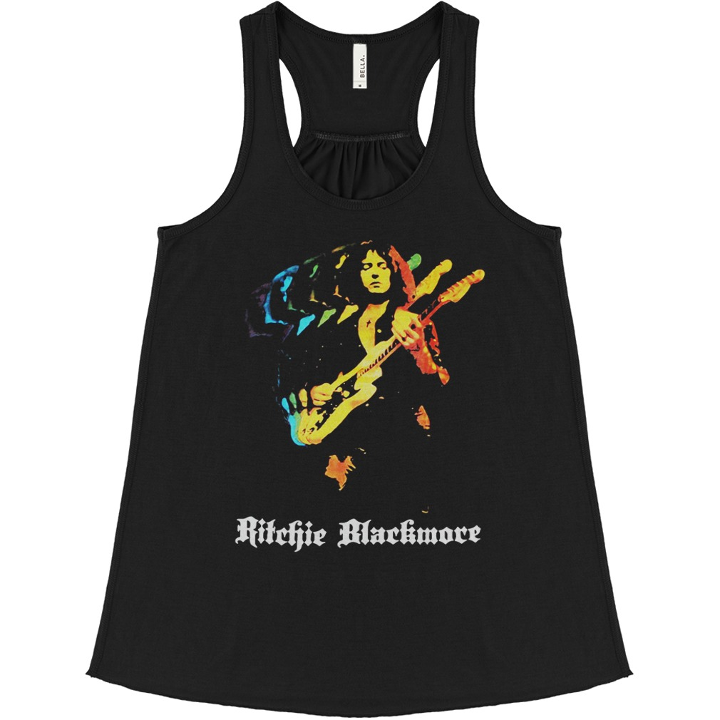 Ritchie Blackmore Solo New Black flowy tank