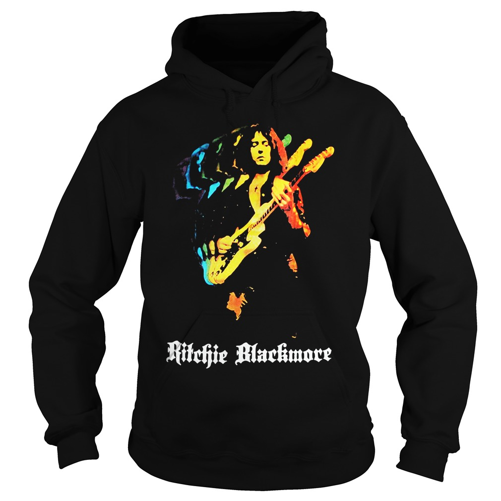 Ritchie Blackmore Solo New Black hoodie