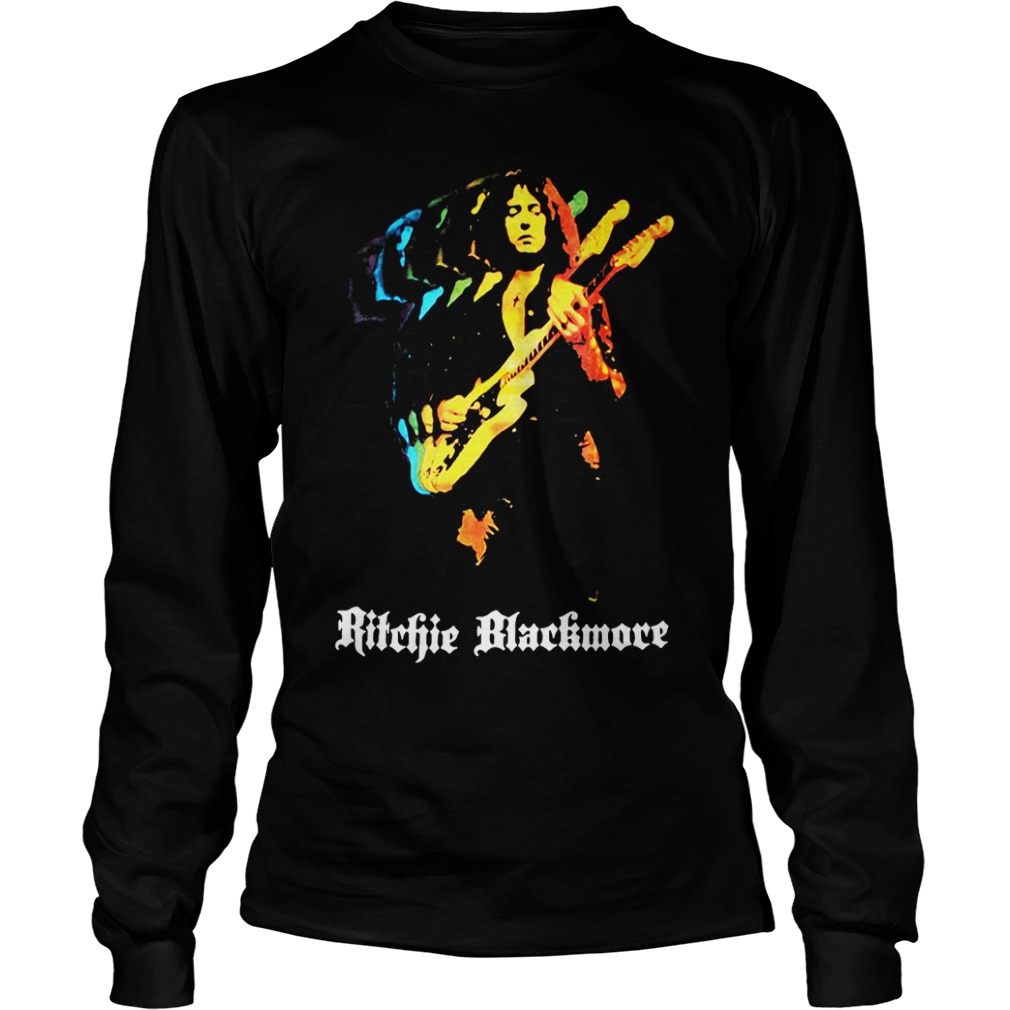 Ritchie Blackmore Solo New Black long sleeve