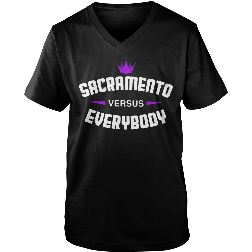 Sacramento Versus Everybodyv-neck