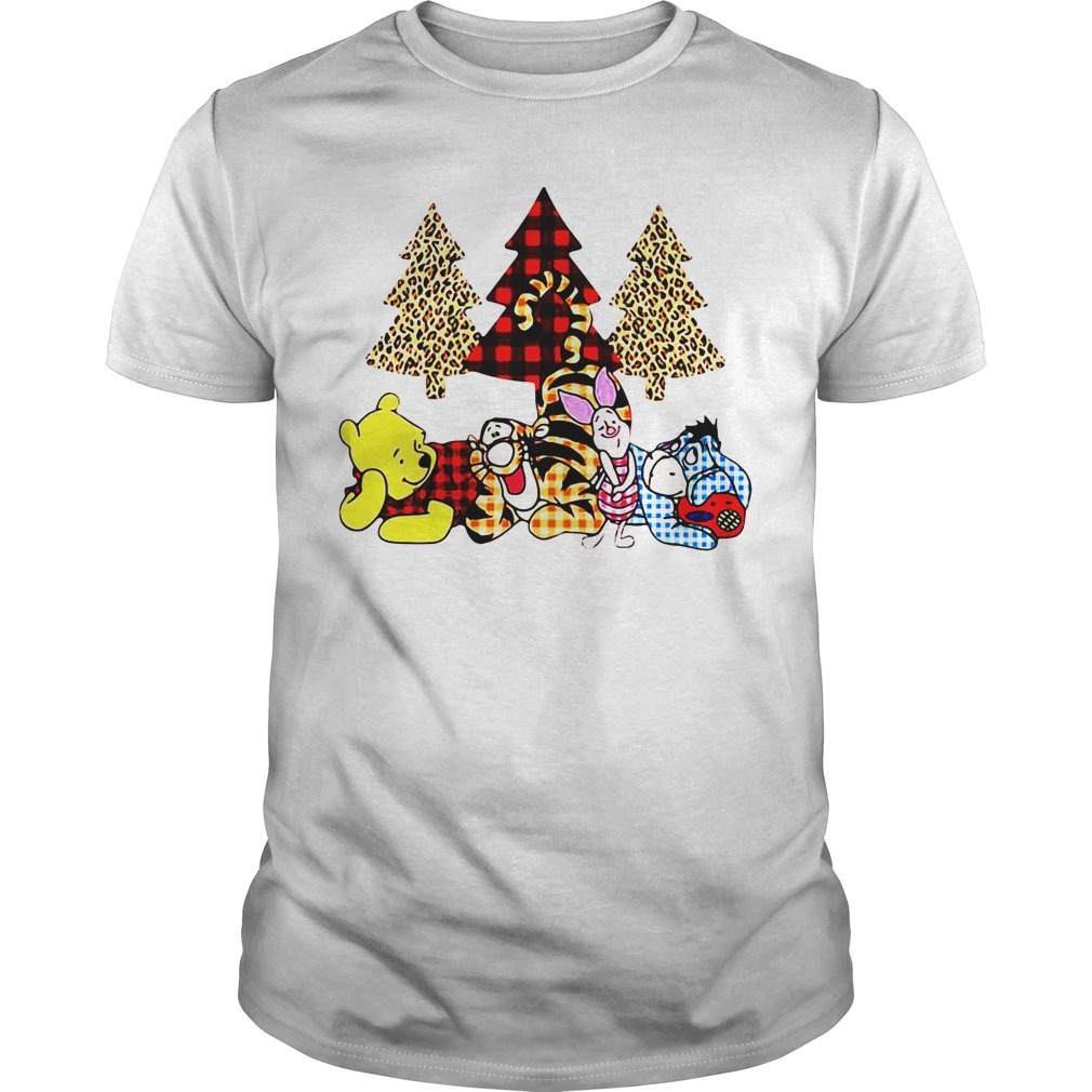 Winnie The Pooh It's The Most Wonderful Time Of The Year guys tee