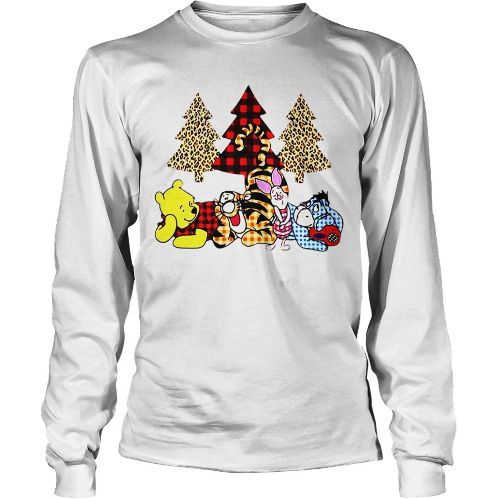 Winnie The Pooh It's The Most Wonderful Time Of The Year long sleeve
