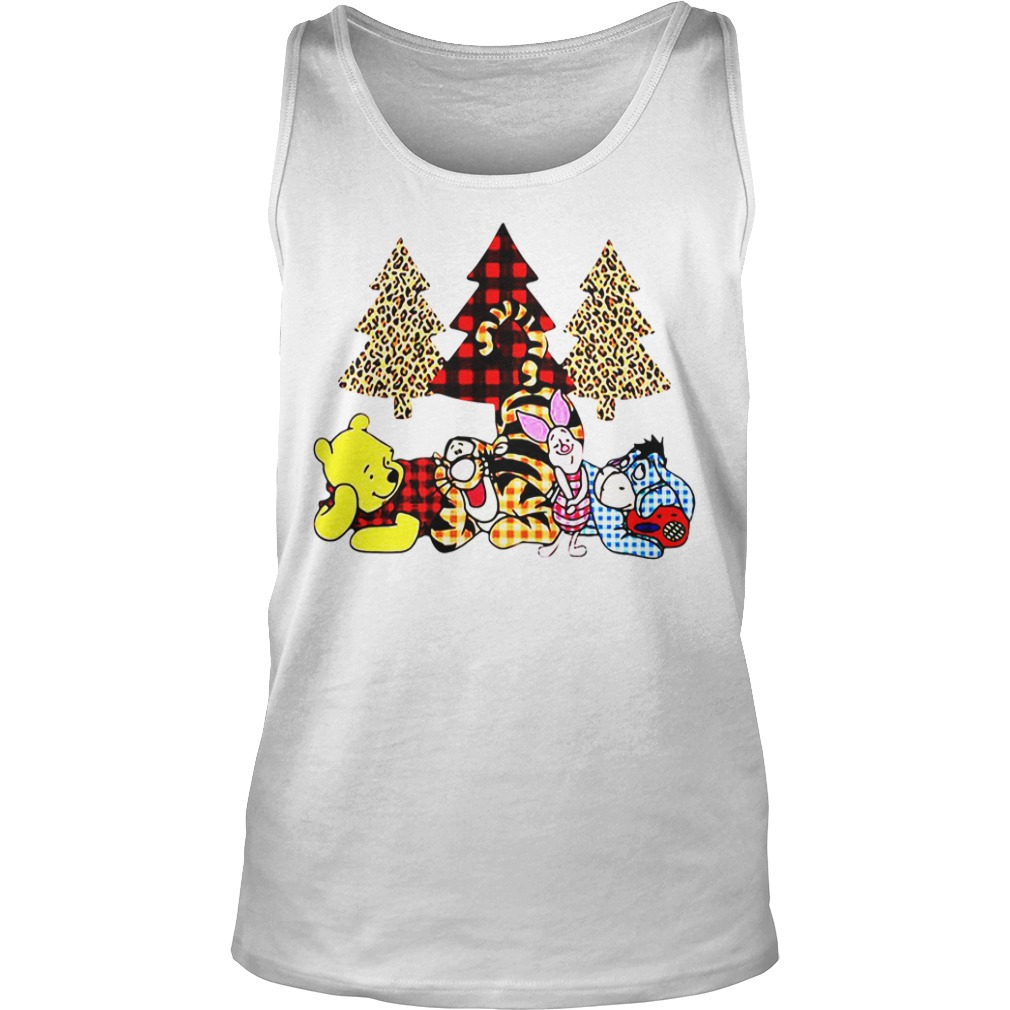 Winnie The Pooh It's The Most Wonderful Time Of The Year tank top