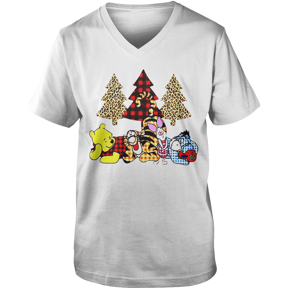 Winnie The Pooh It's The Most Wonderful Time Of The Year v-neck