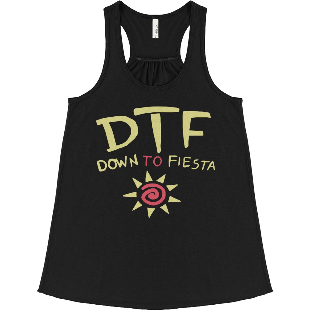 Brooklyn Nine Nine Dtf Down To Fiesta flowy tank