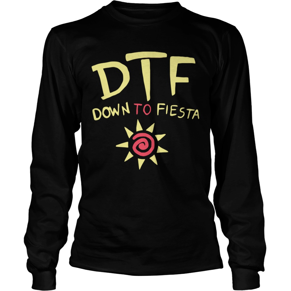 Brooklyn Nine Nine Dtf Down To Fiesta long sleeve