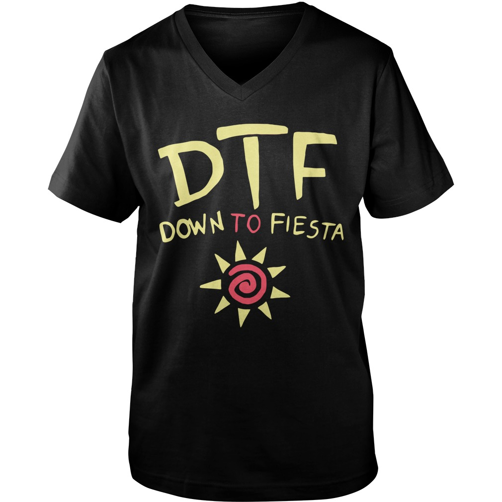 Brooklyn Nine Nine Dtf Down To Fiesta v-neck