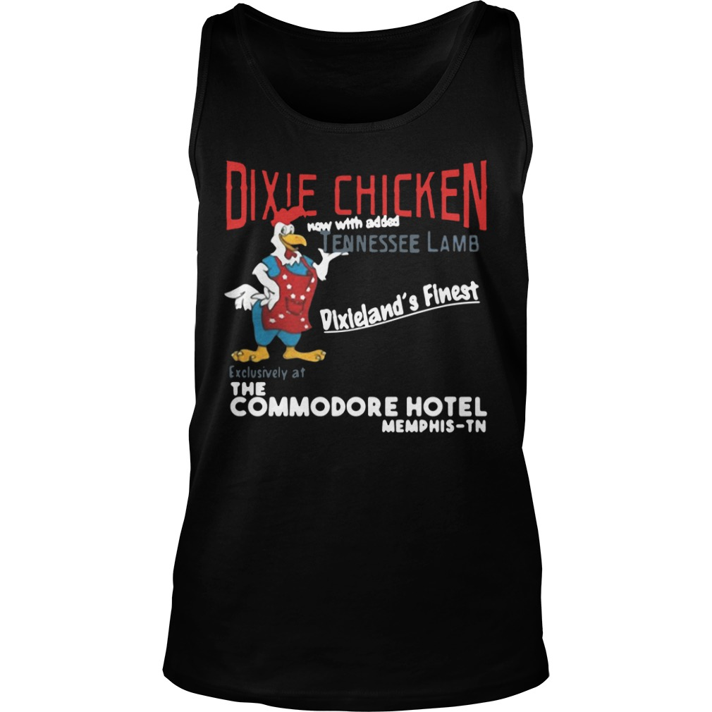 Dixie Chicken Now With Added Tennessee Lamb tank top