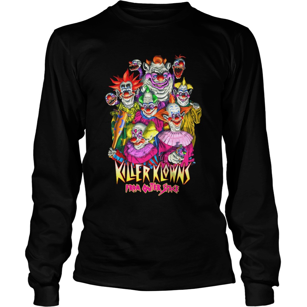 Killer Klowns From Outer Space long sleeve