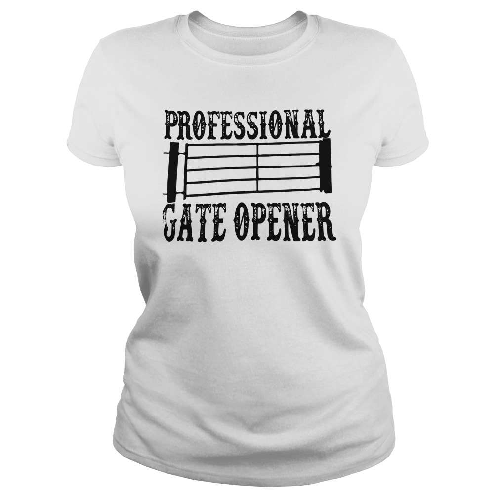Professional Gate Opener ladies tee