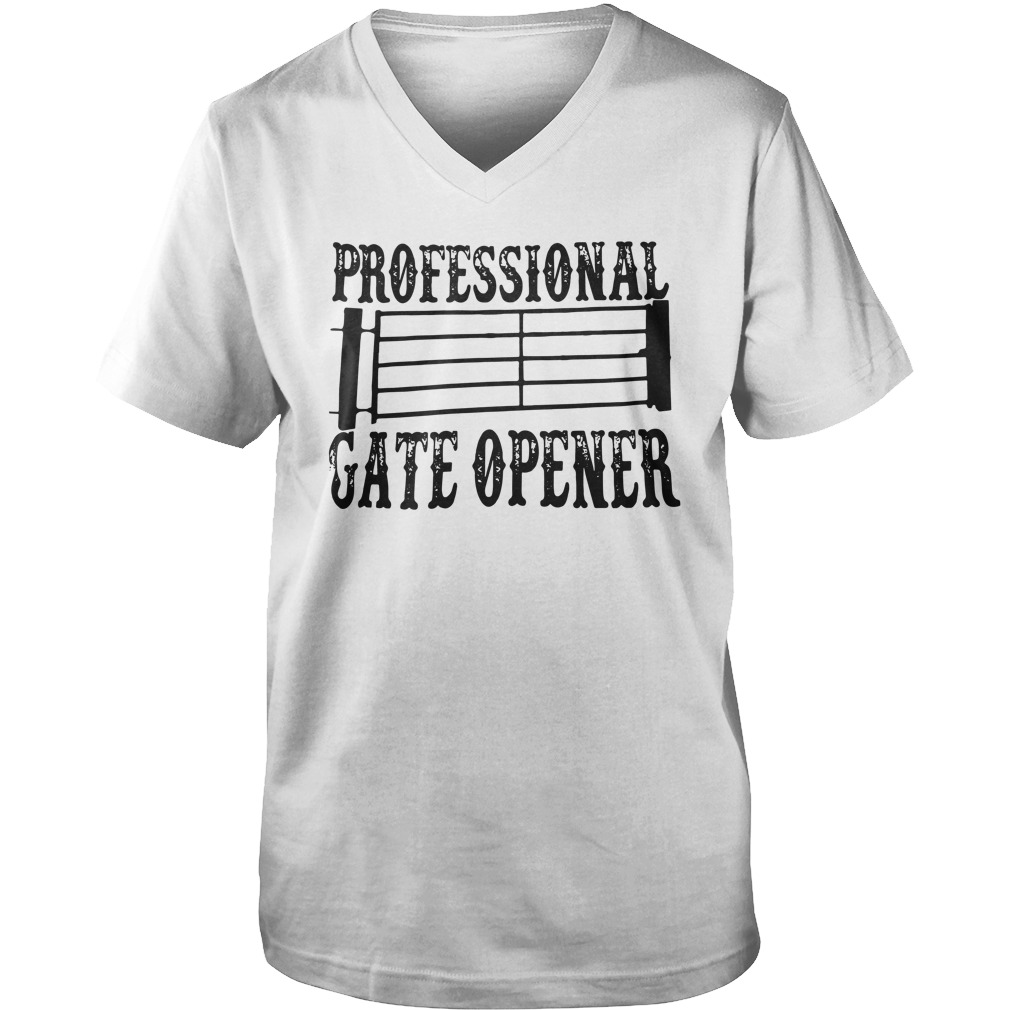Professional Gate Opener v-neck
