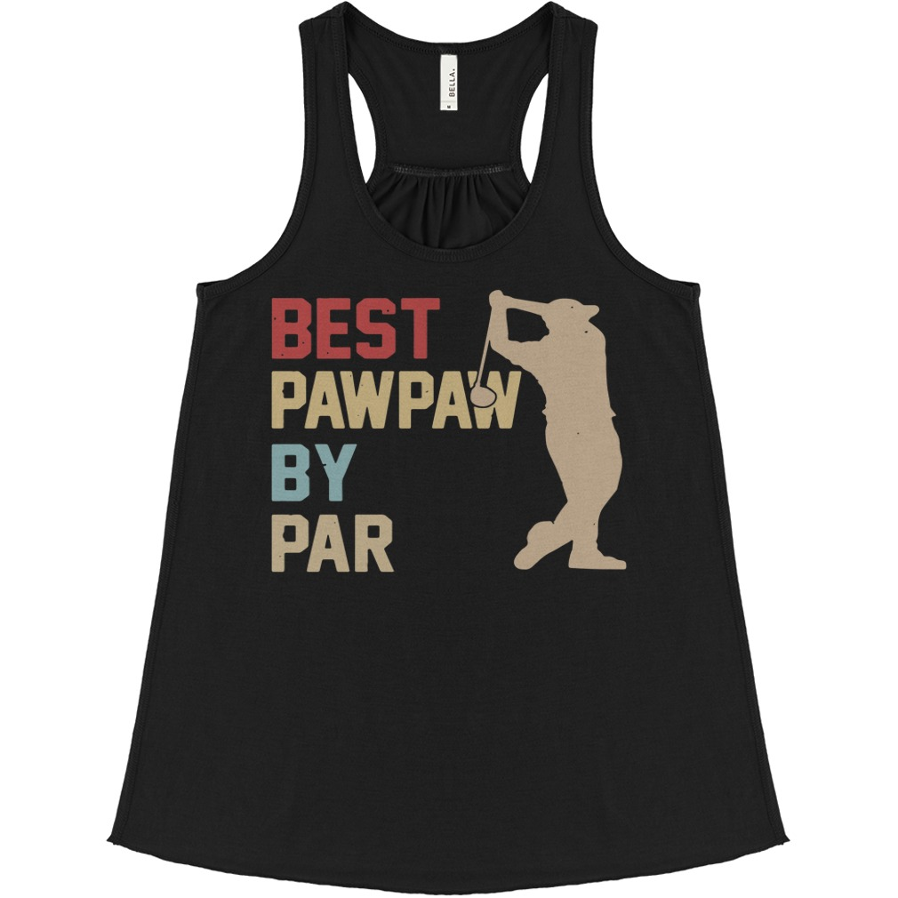 Golf Best Pawpaw By Par flowy tank