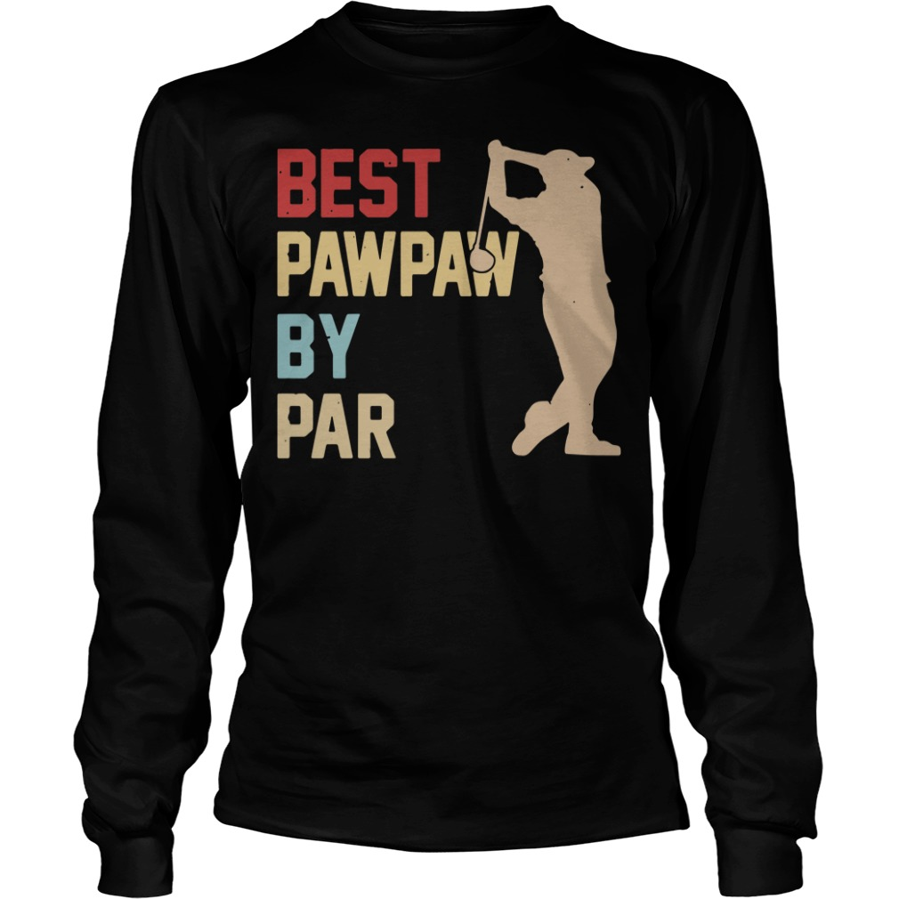 Golf Best Pawpaw By Par long sleeve