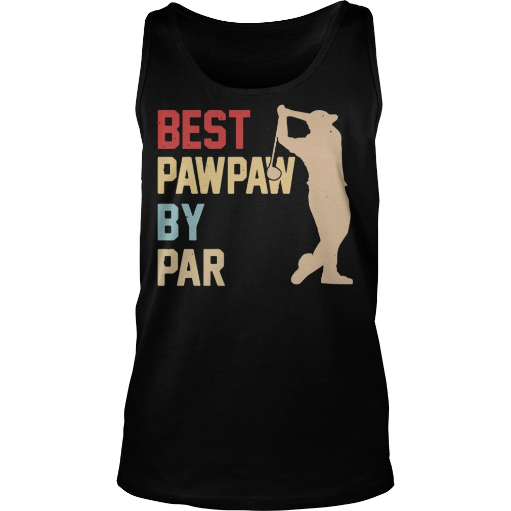 Golf Best Pawpaw By Par tank top