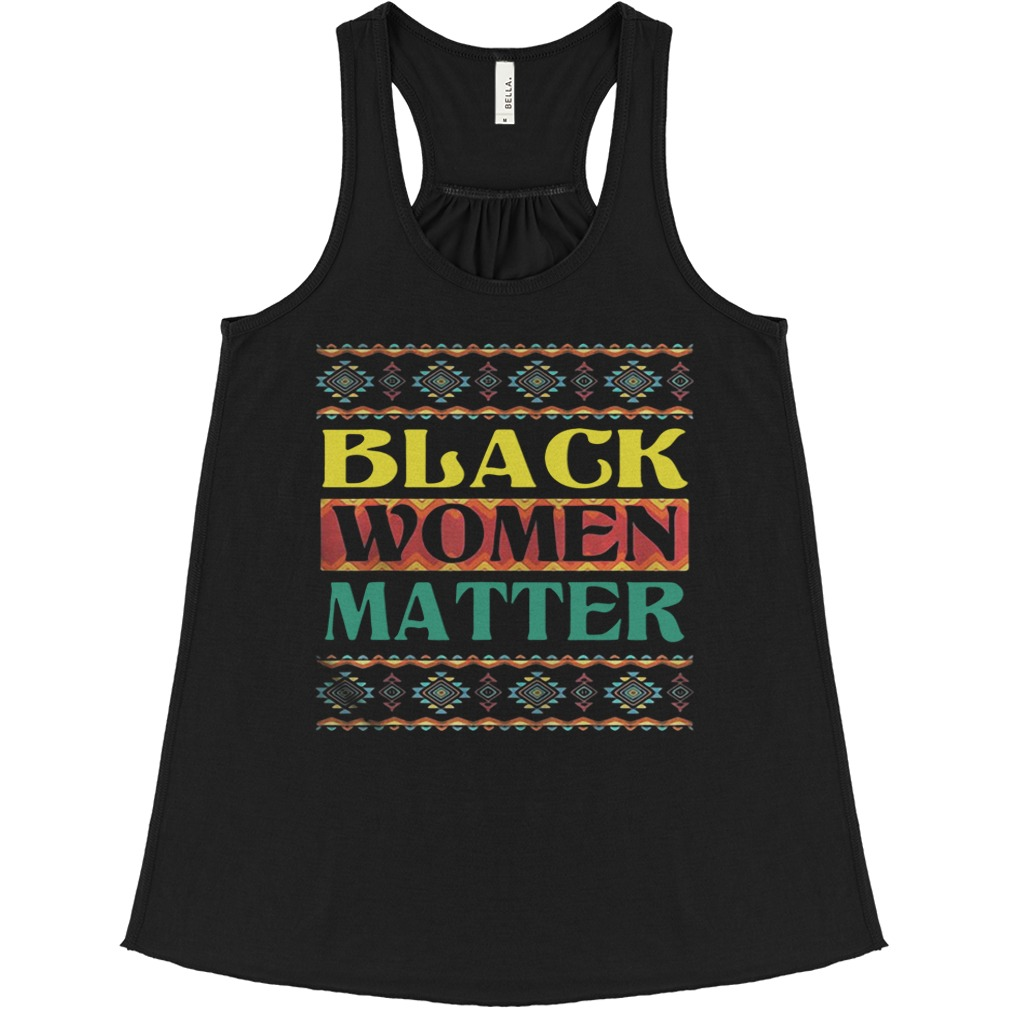 Official Black Women Matter flowy tank