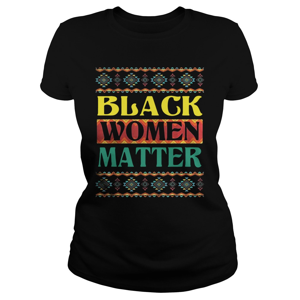 Official Black Women Matter ladies tee