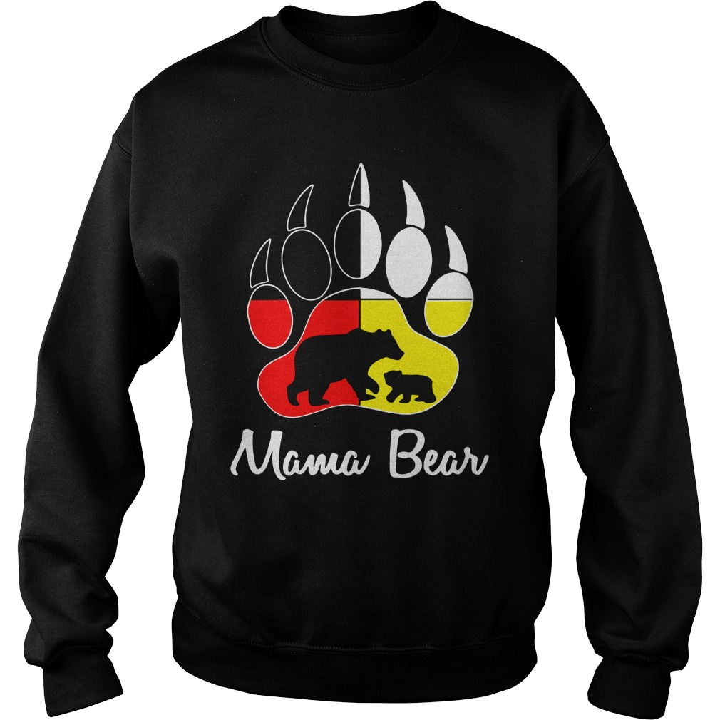 mama bear paw sweatshirt - Official Mama Bear paw shirt