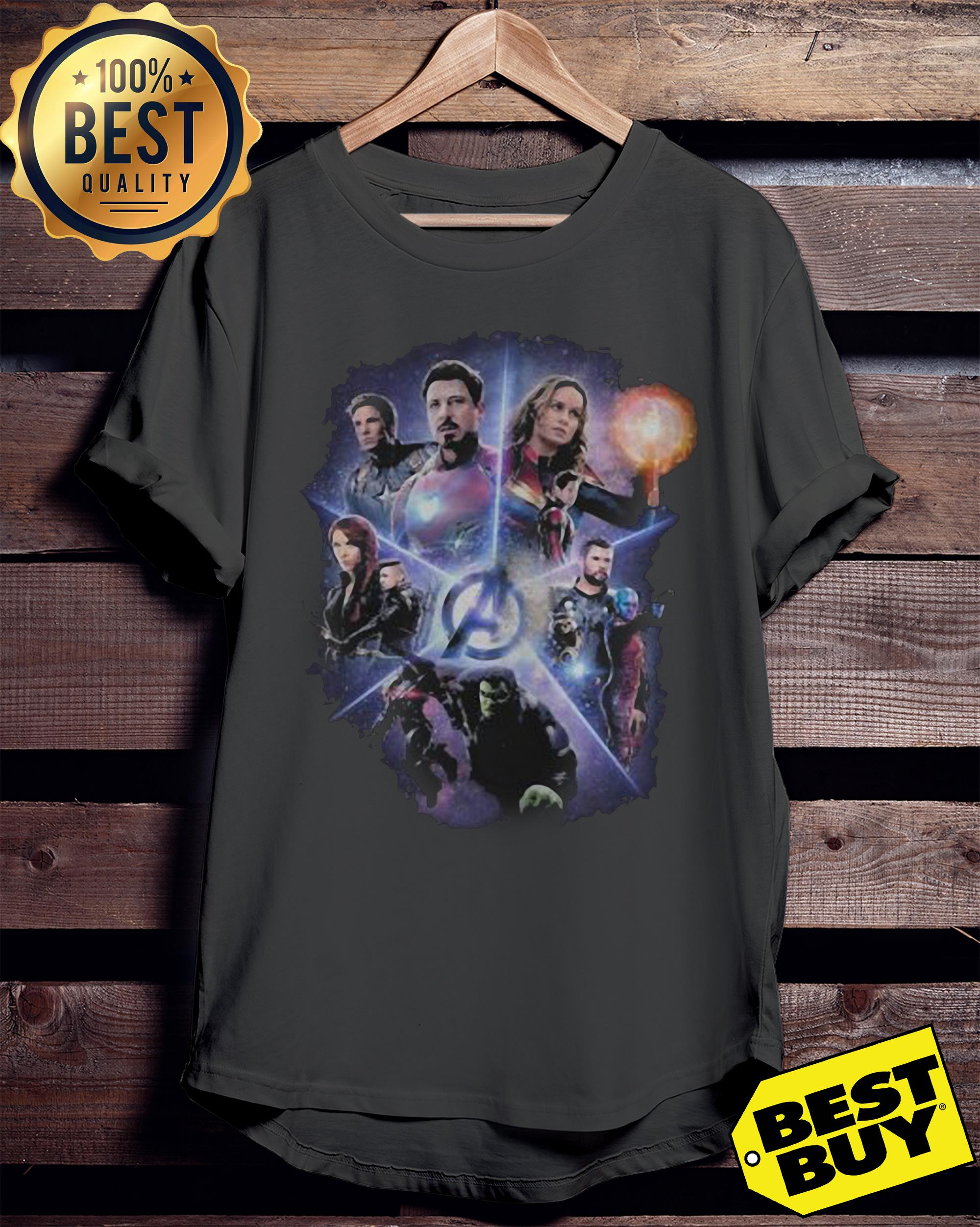 Marvel Avengers End Game Movie Poster Funny ladies tee