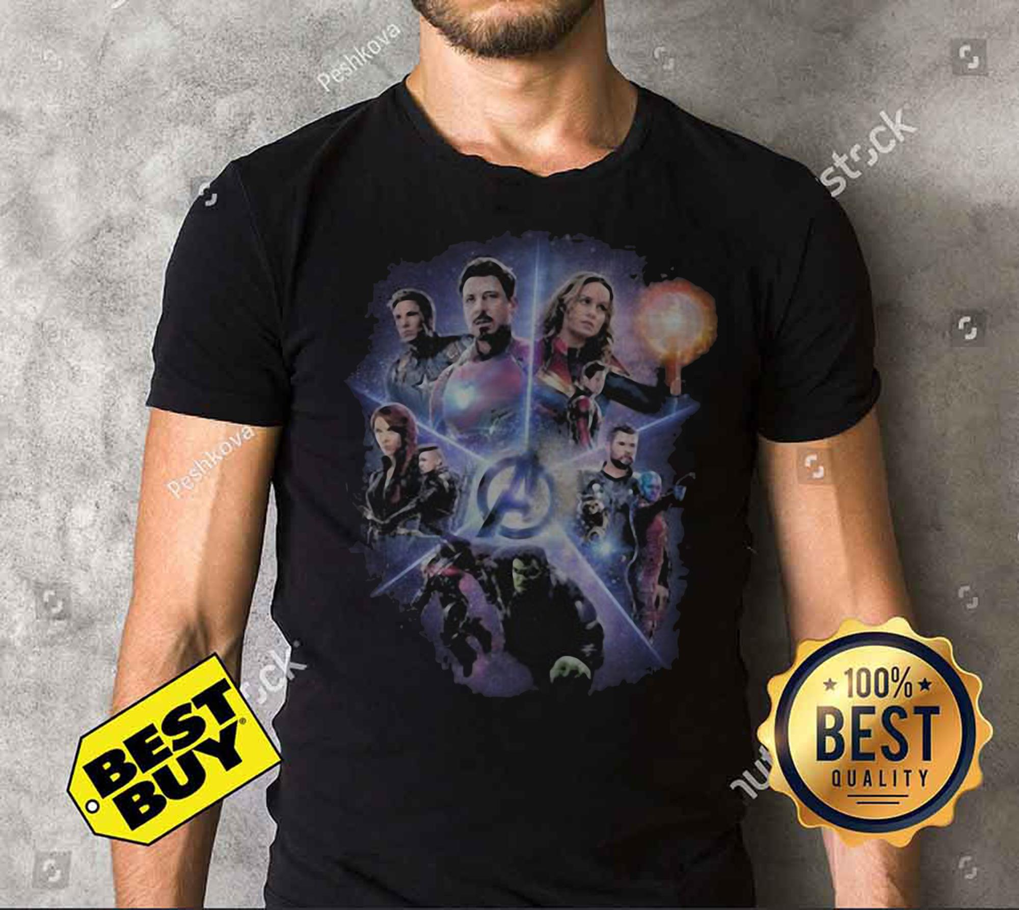 Marvel Avengers End Game Movie Poster Funny tank top