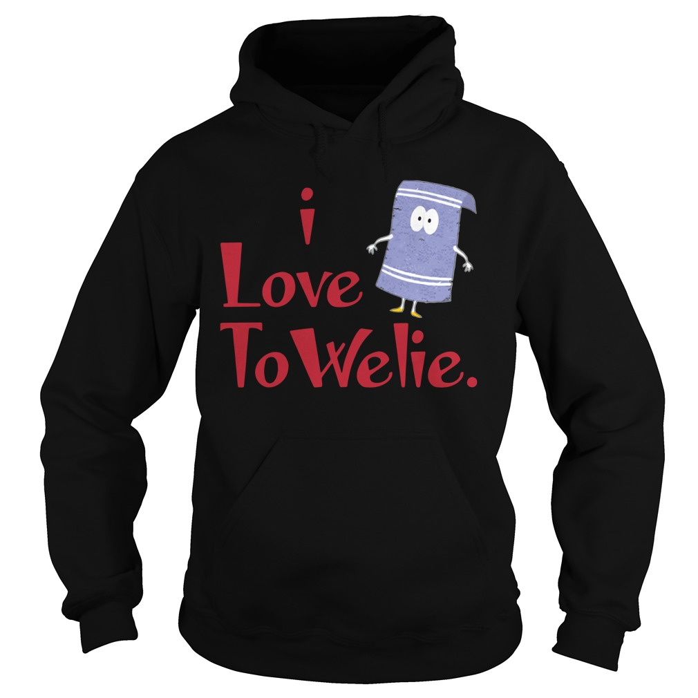 Official I Love Towelie Funny hoodie