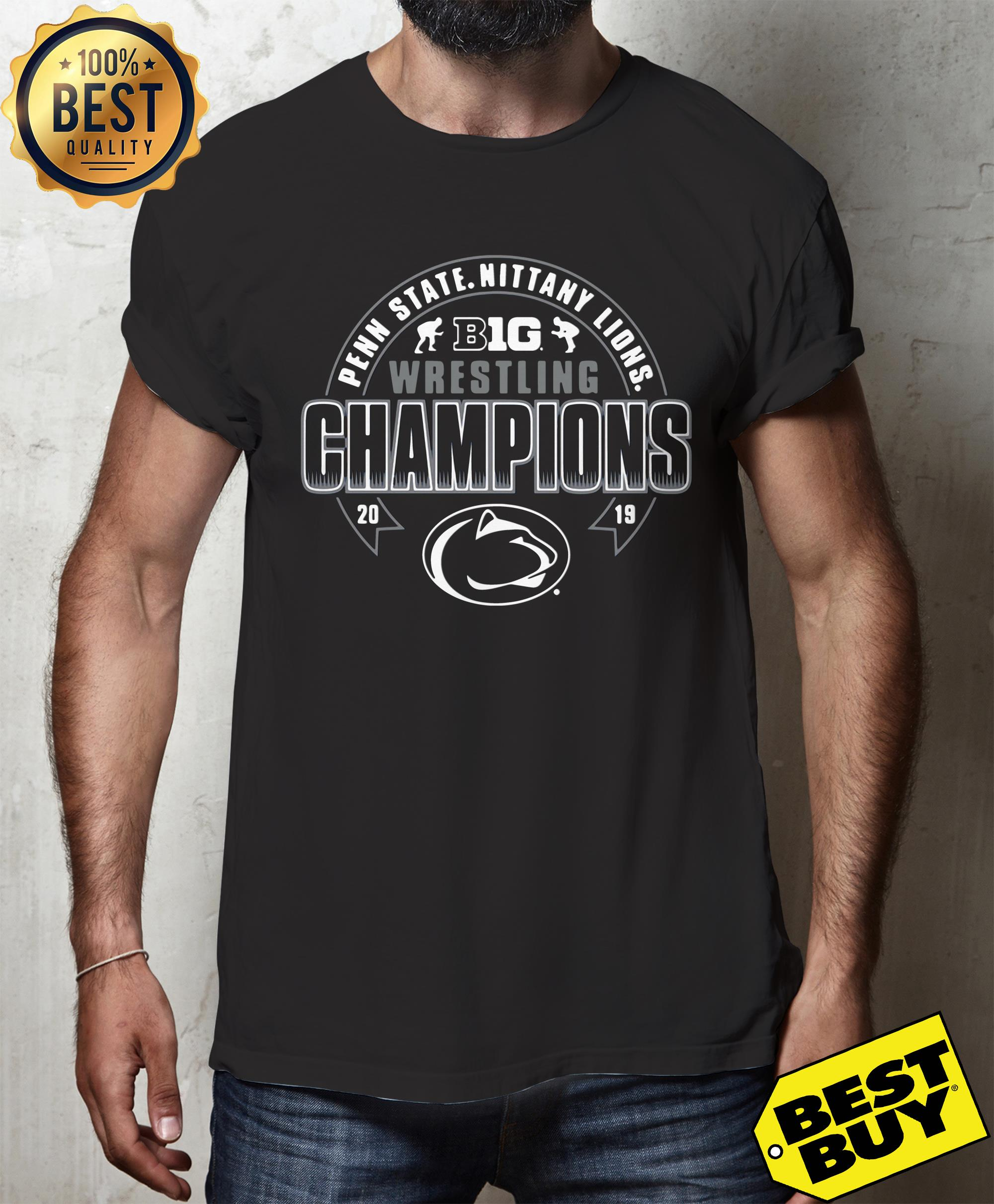 Penn State Youth 2019 Big Ten Wrestling Champions tank top