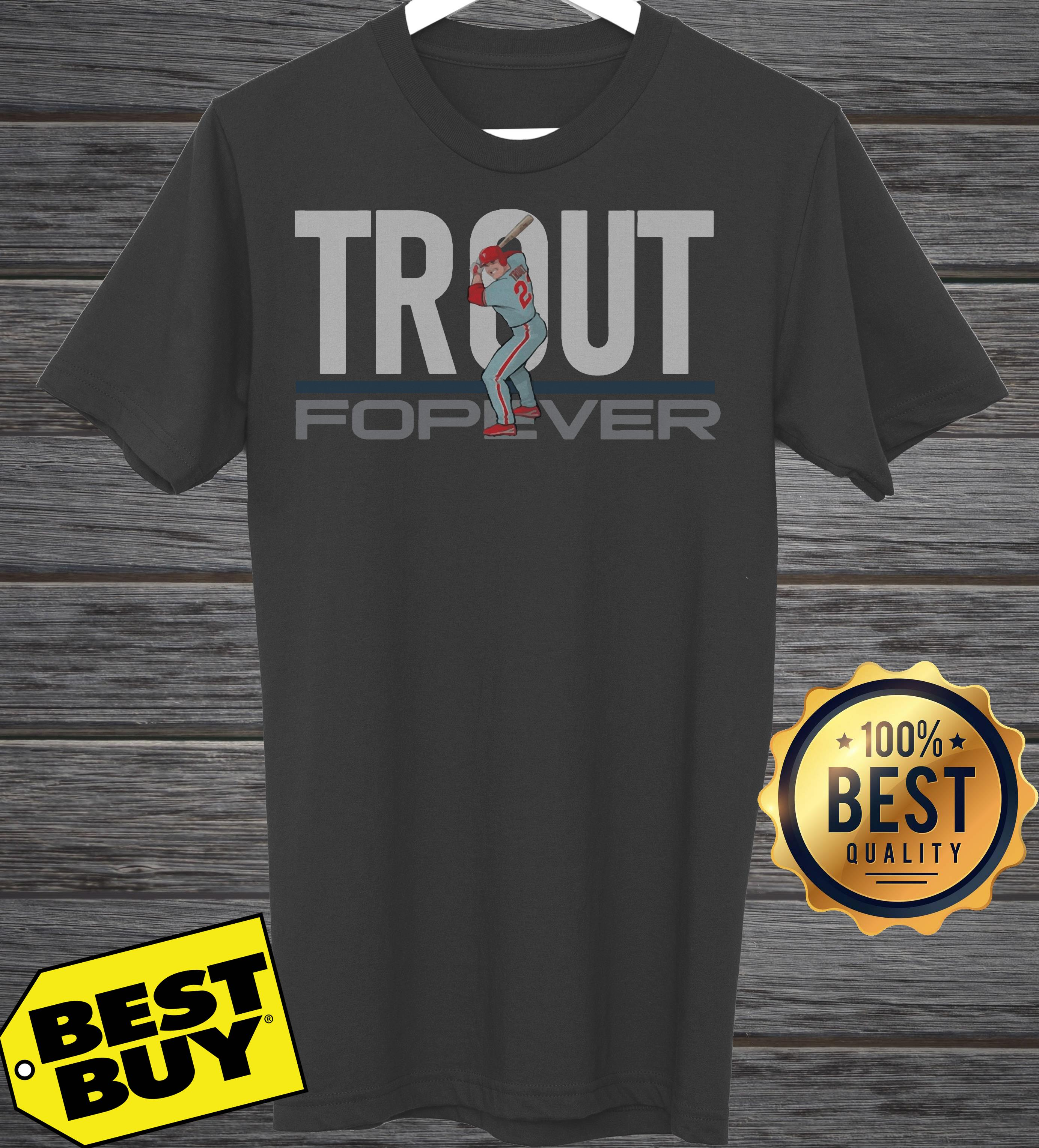 Astros Tuesday Trout Forever ladies tee