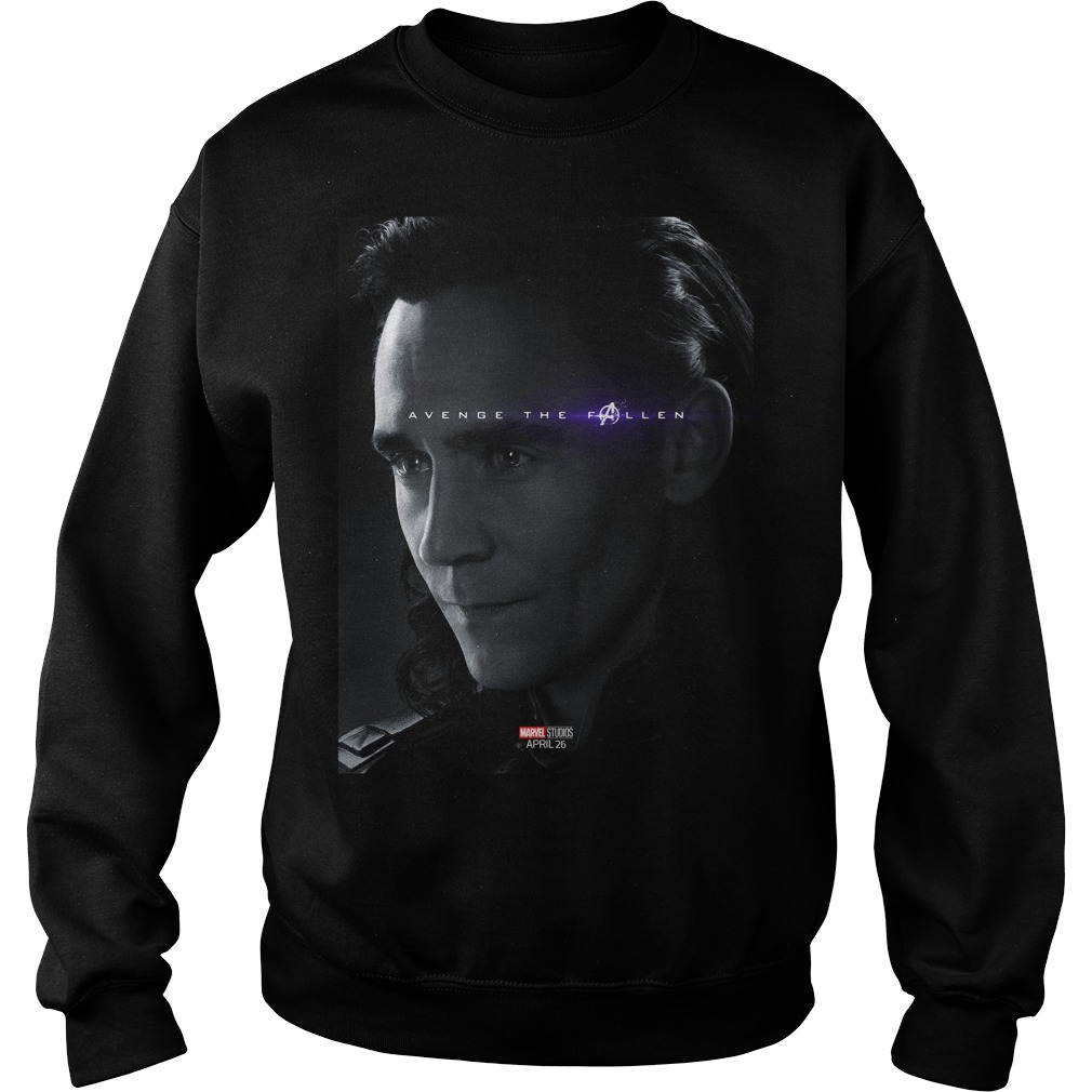 Avengers Endgame Loki Tom Hiddleston Signature Shirt ...