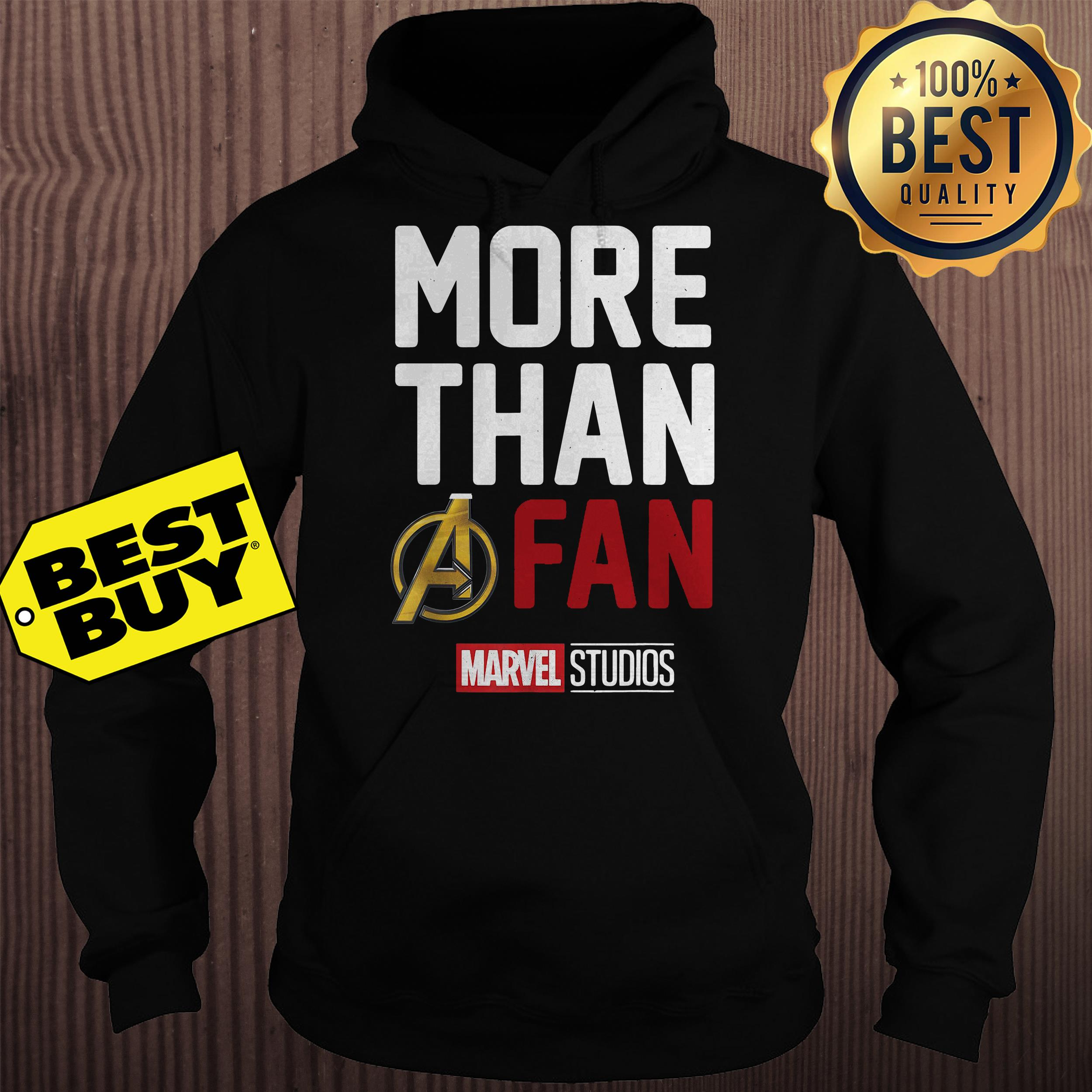 Avengers Endgame Marvel Studios More Than A Fan 2019 Graphic hoodie