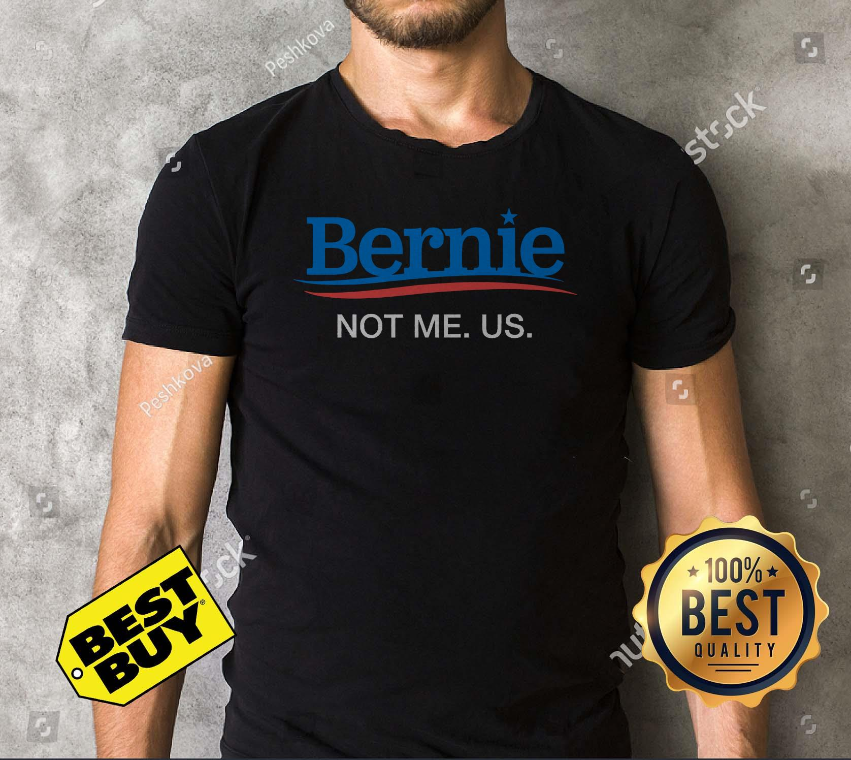 Bernie Sanders 2020 Not Me Us v-neck