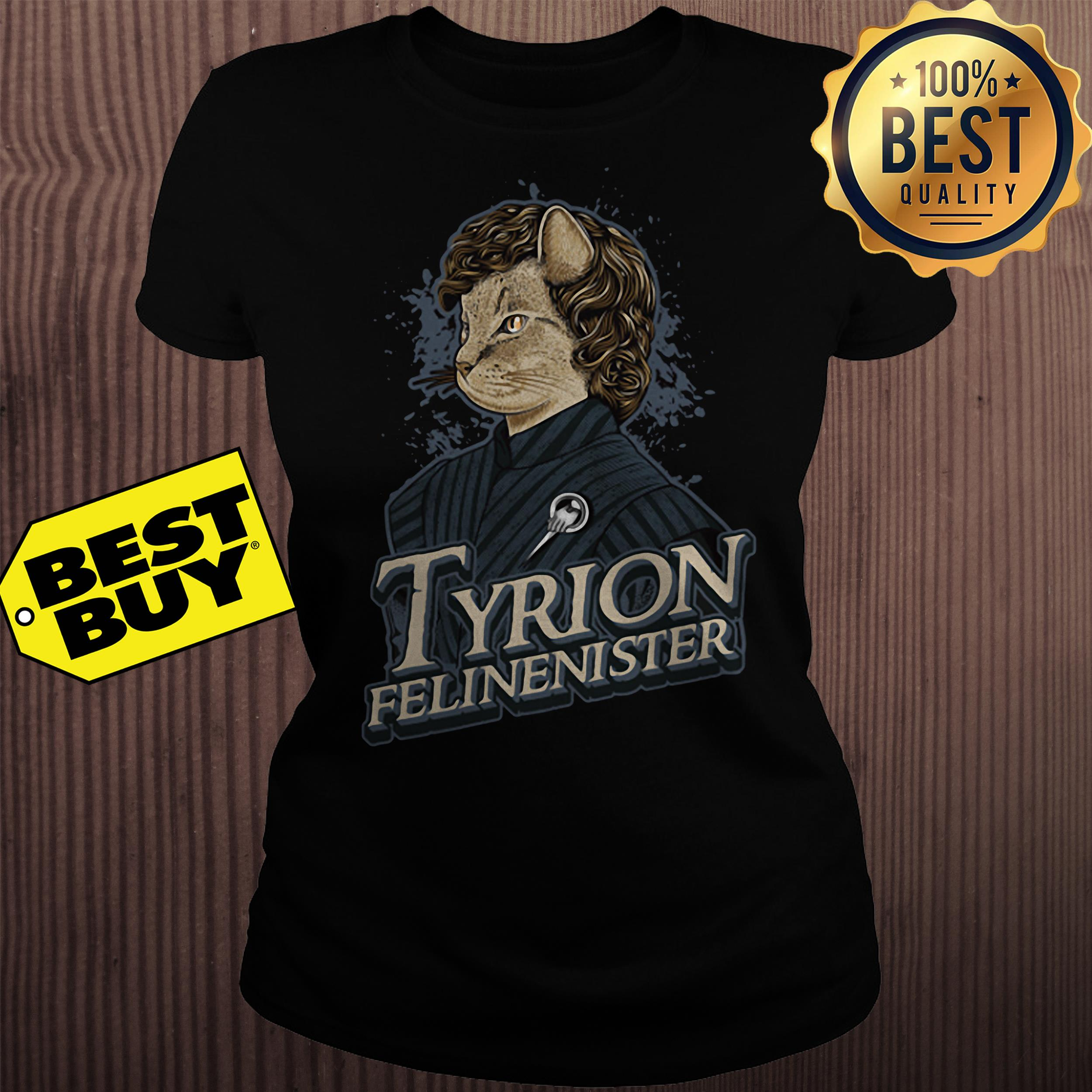 Game Of Thrones Tyrion Felinenister ladies tee