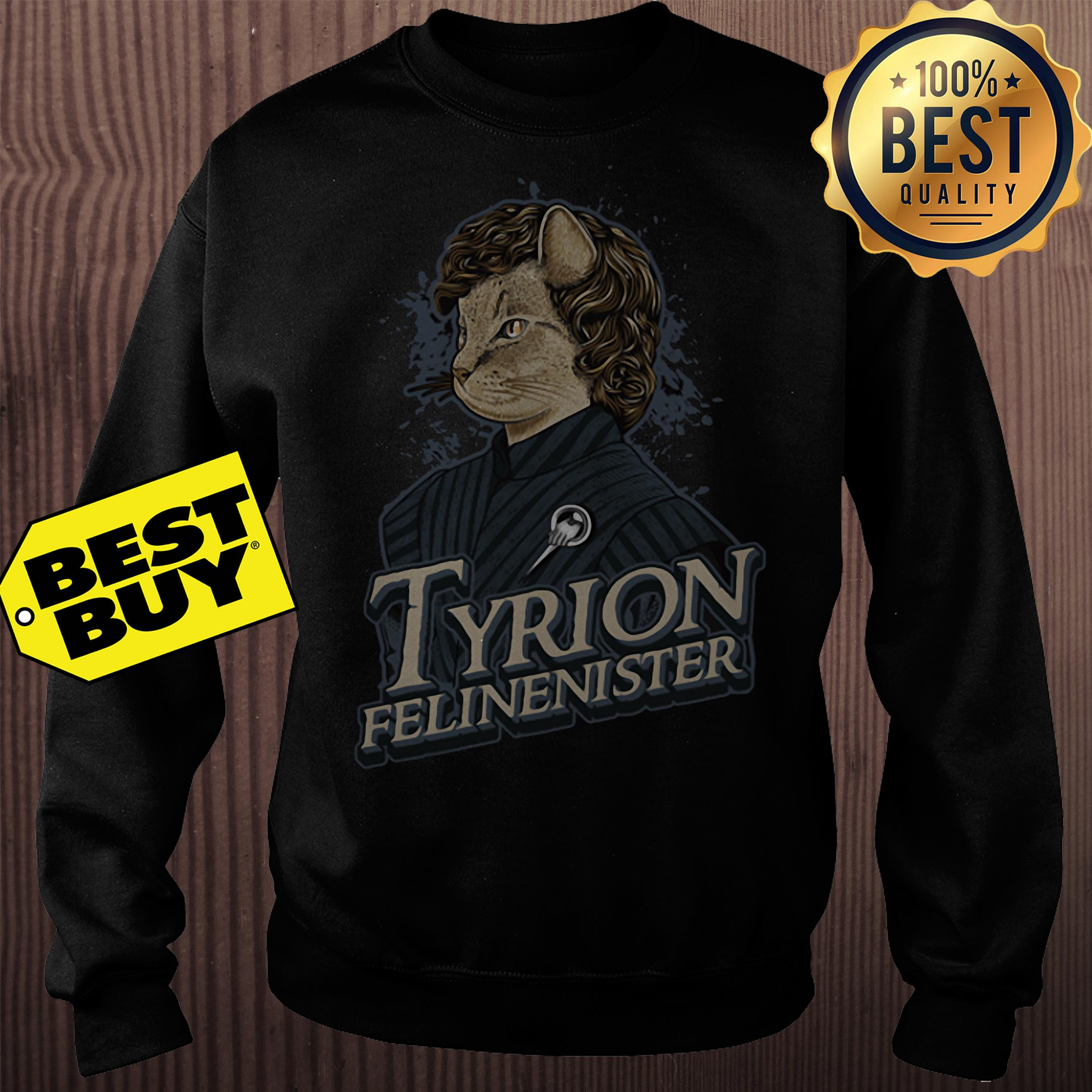 Game Of Thrones Tyrion Felinenister Sweatshirt