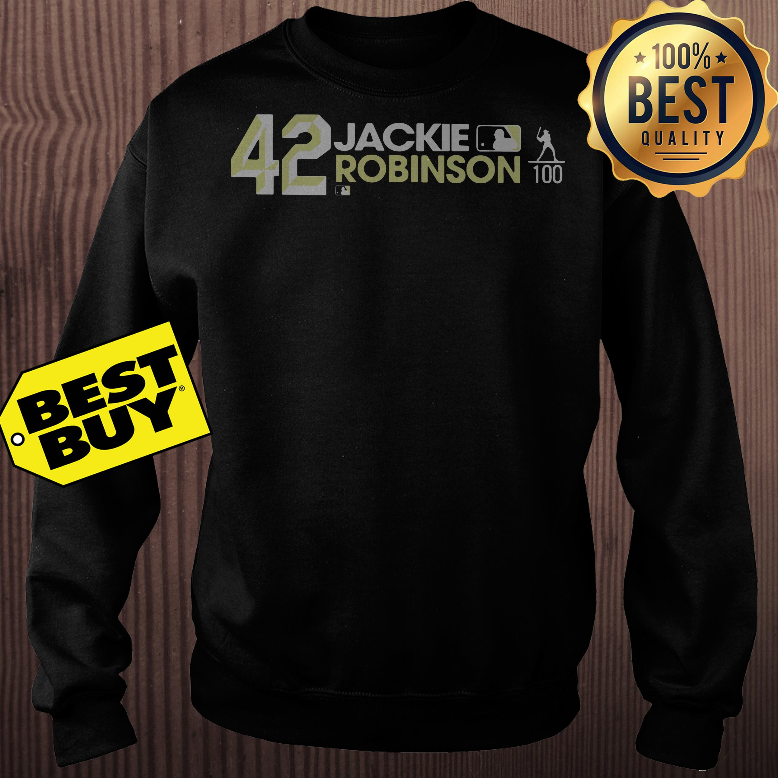 Jackie Robinson 42 Los Angeles Dodgers Sweatshirt