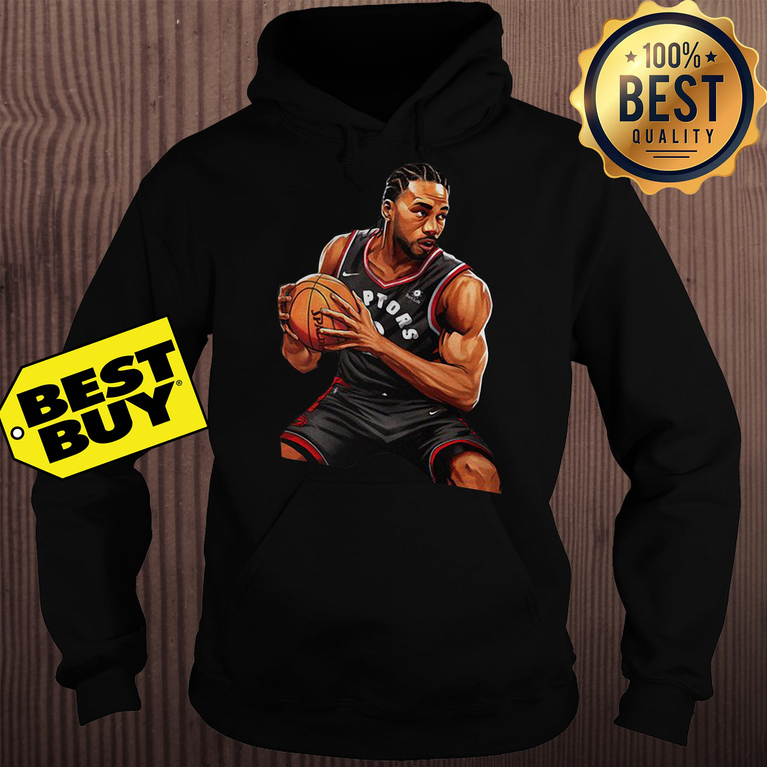 Kawhi Leonard Toronto Raptors Nike 2019 Nba Playoffs Bound Hero hoodie