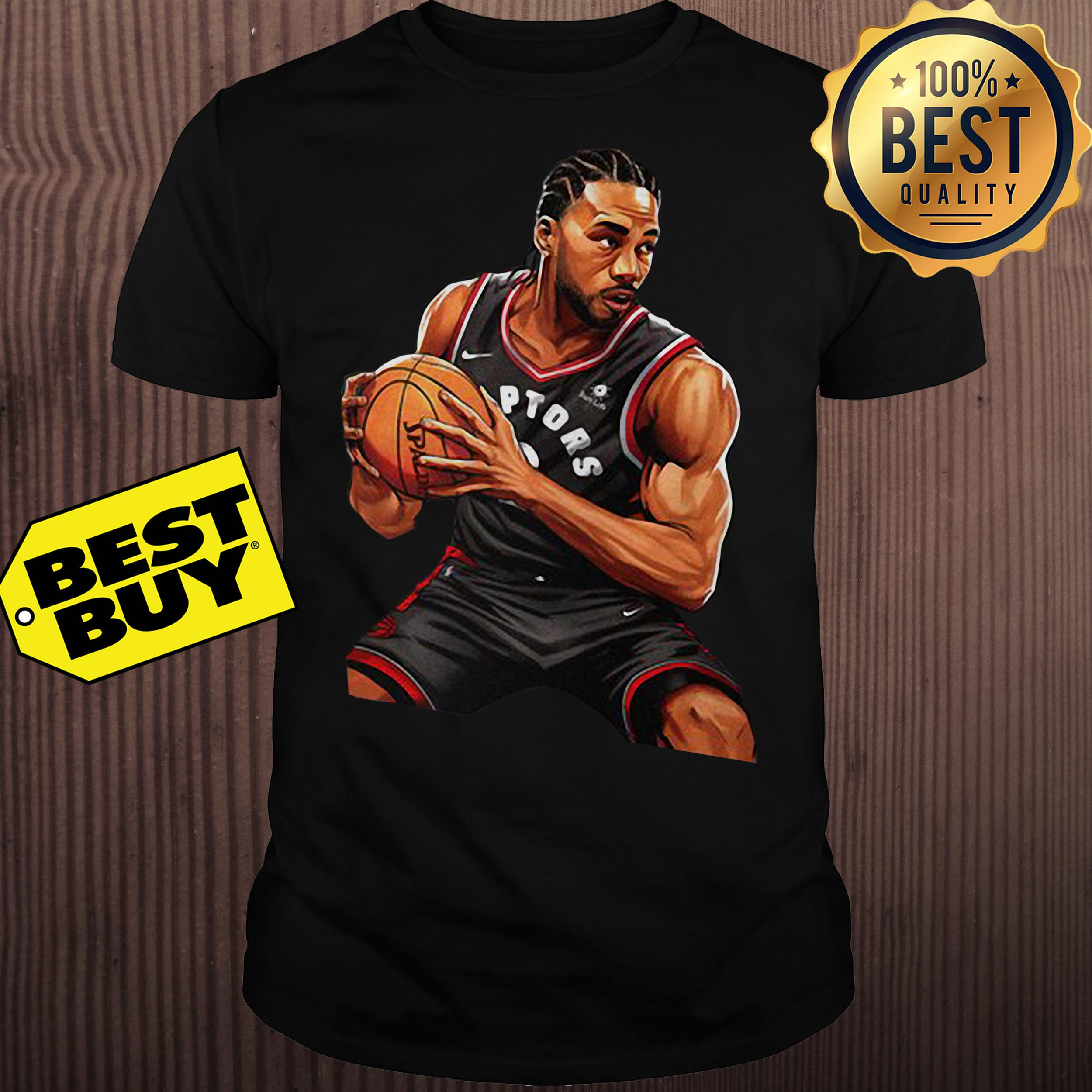 Kawhi Leonard Toronto Raptors Nike 2019 Nba Playoffs Bound Hero Shirt
