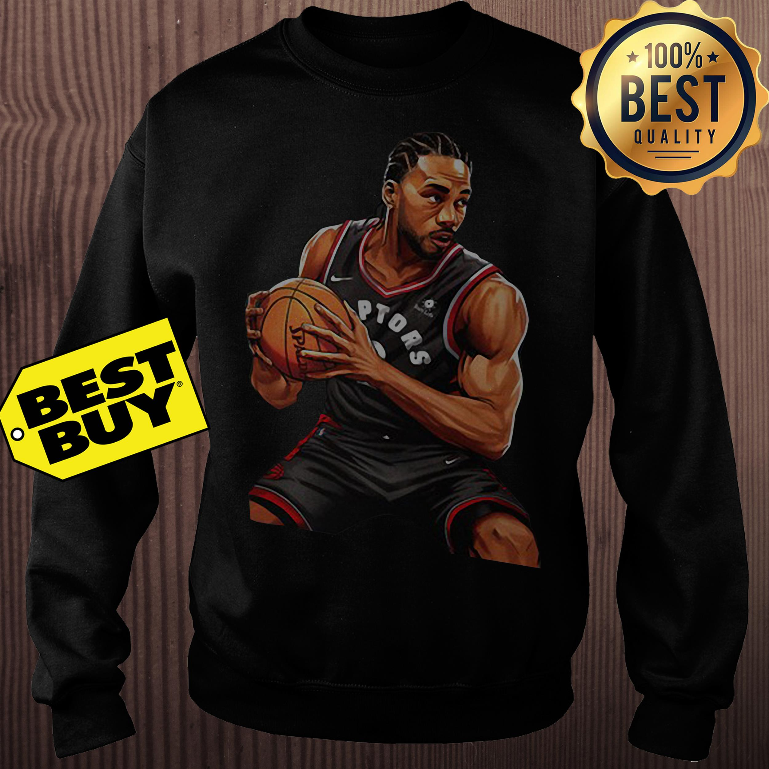 Kawhi Leonard Toronto Raptors Nike 2019 Nba Playoffs Bound Hero Sweatshirt