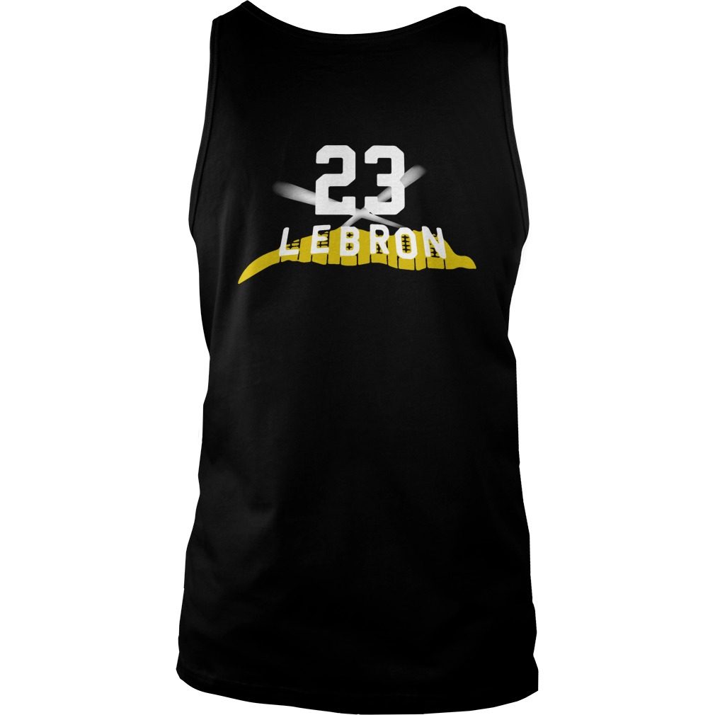Los Angeles Lakers Adidas Primary Logo Lebron 23 tank top1