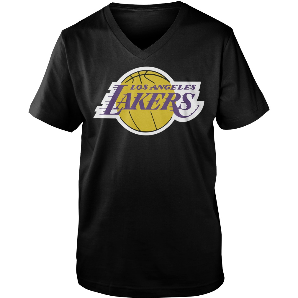 Los Angeles Lakers Adidas Primary Logo Lebron 23 v-neck