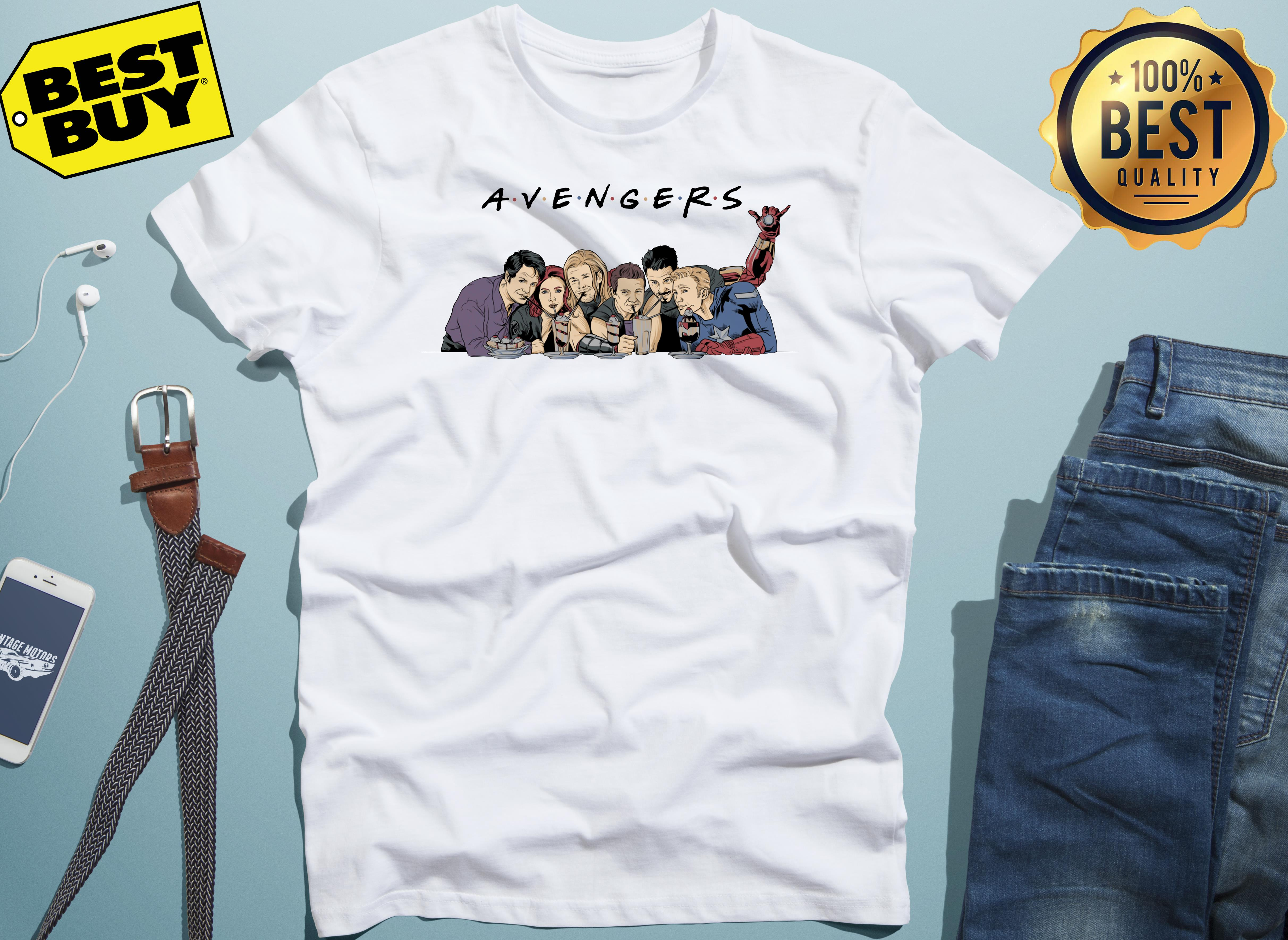 Marvel Avengers Infinity War Movie Adult ladies tee