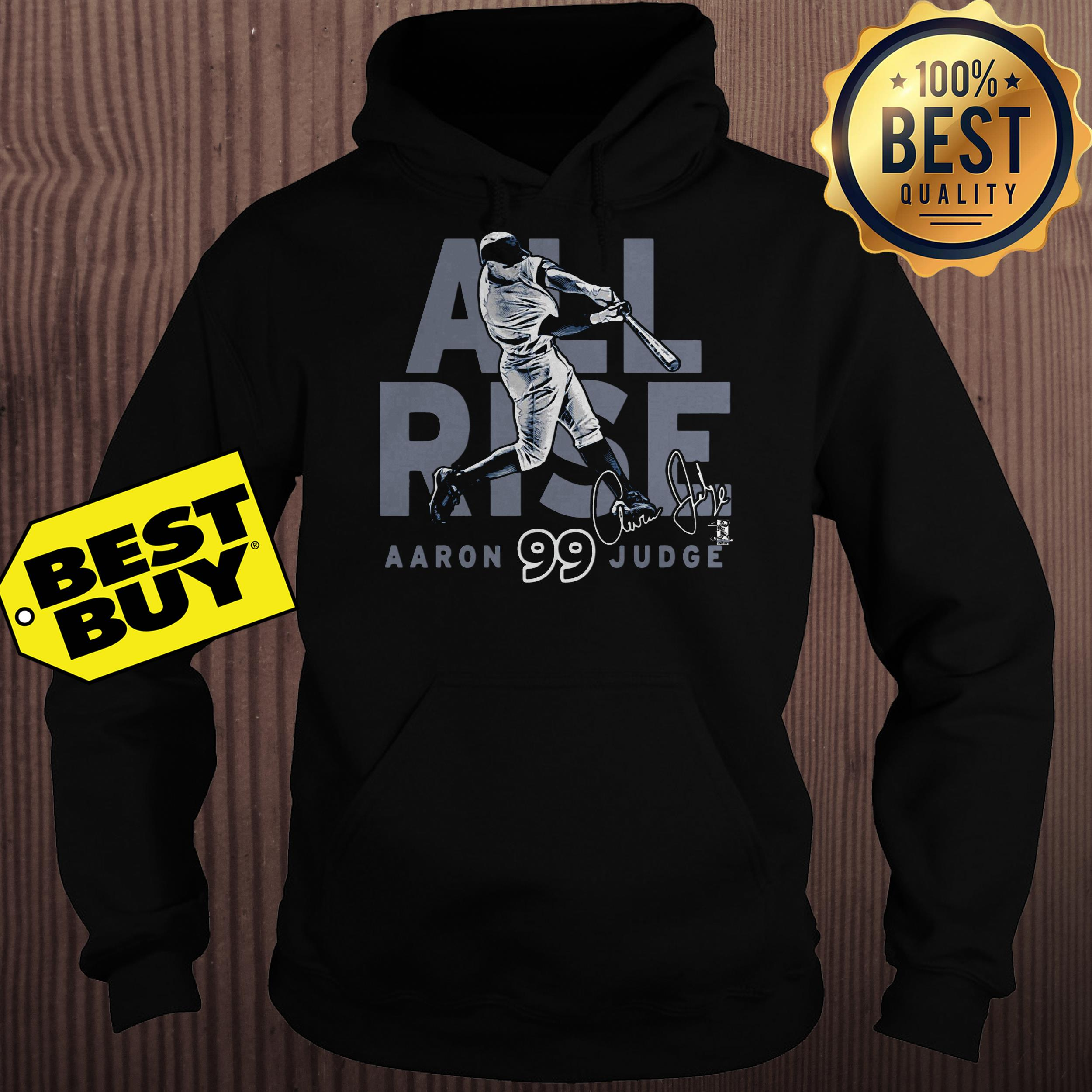 New York Yankees Aaron Judge All Rise Ny Jersey hoodie