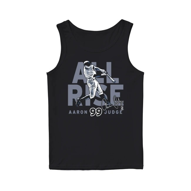 New York Yankees Aaron Judge All Rise Ny Jersey tank top