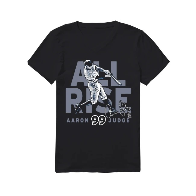 New York Yankees Aaron Judge All Rise Ny Jersey v-neck