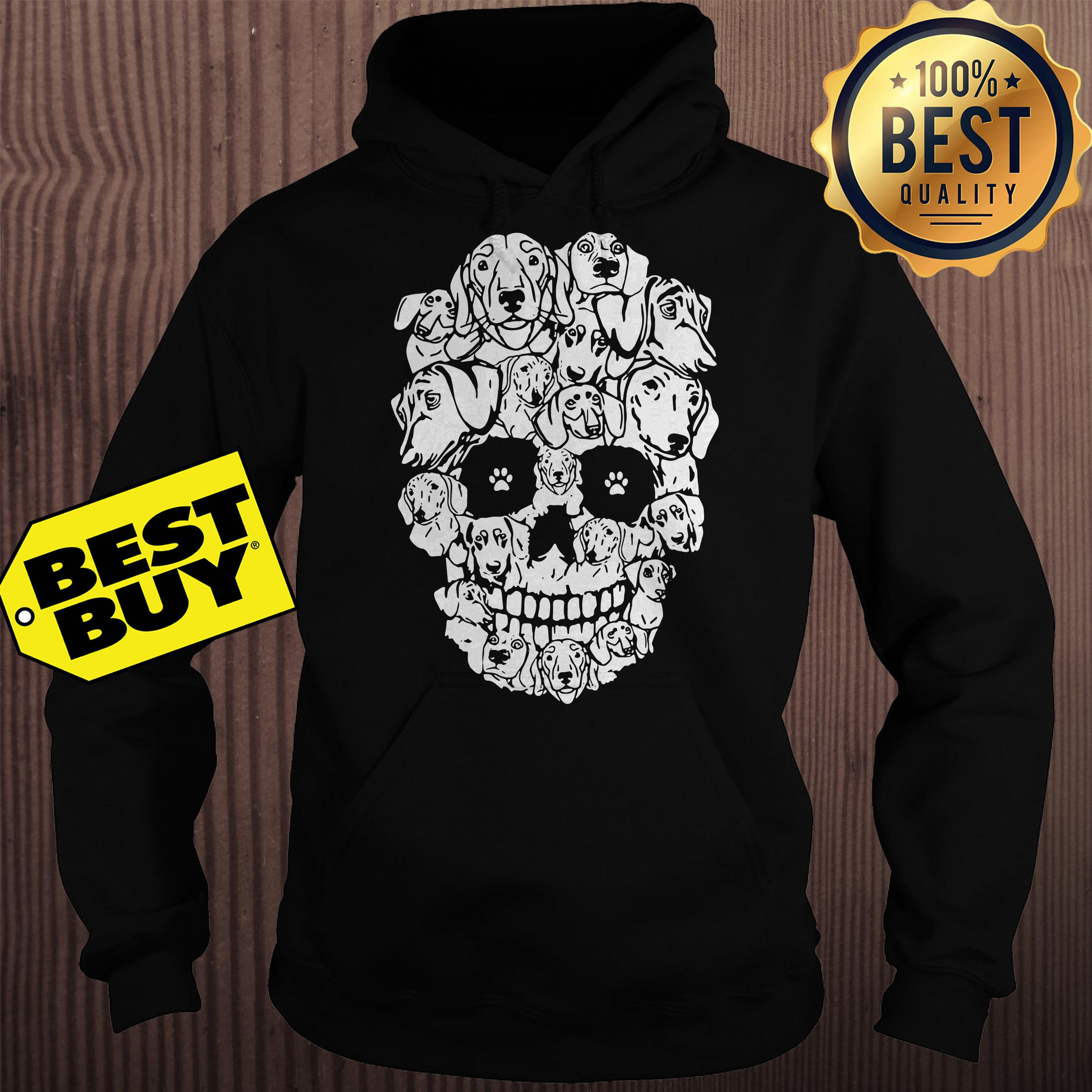 Official Dachshund Skull Version hoodie