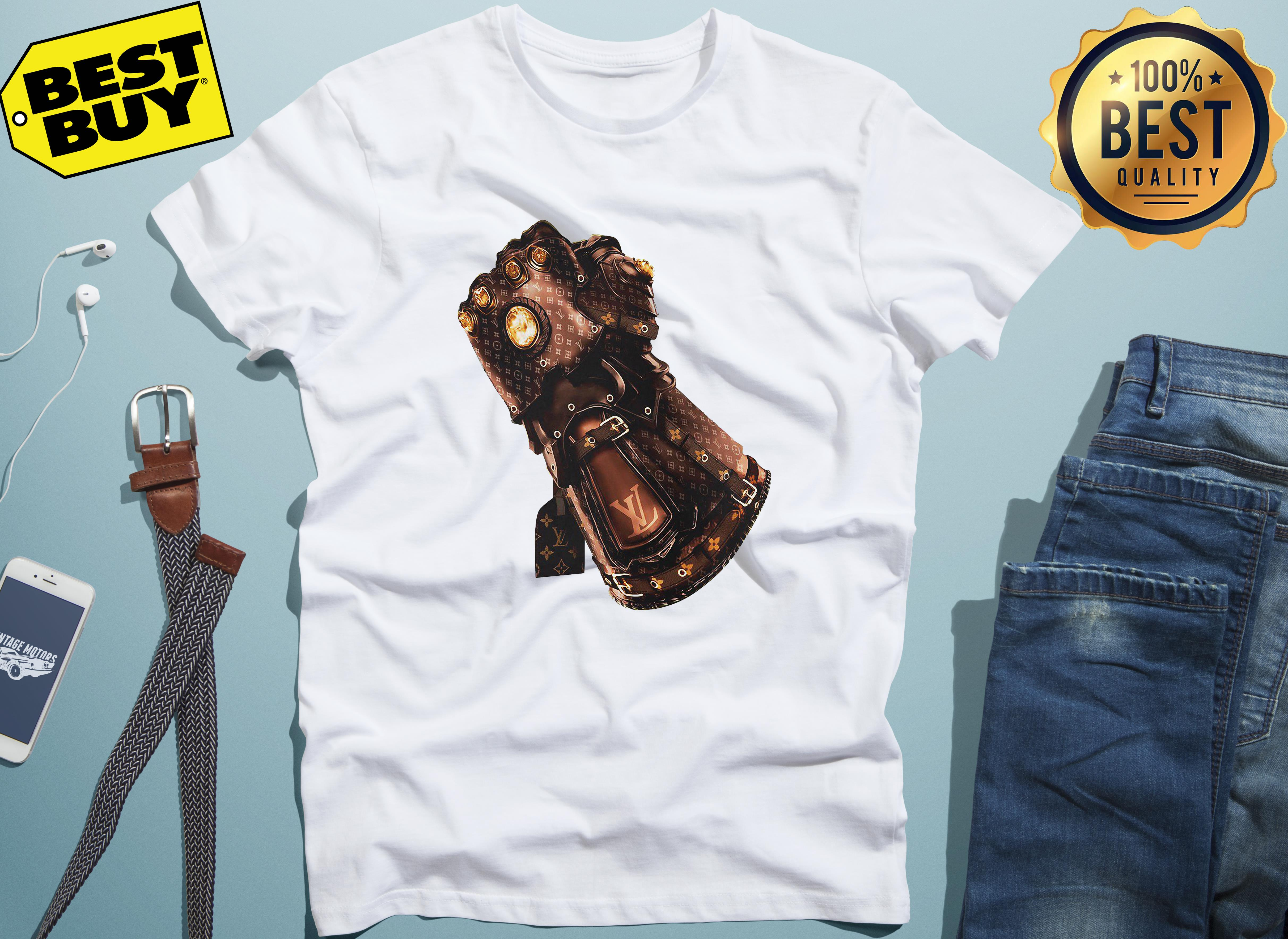 Thanos Vs Iron Man Avengers Endgame Gauntlet X Louis Vuitton hoodie
