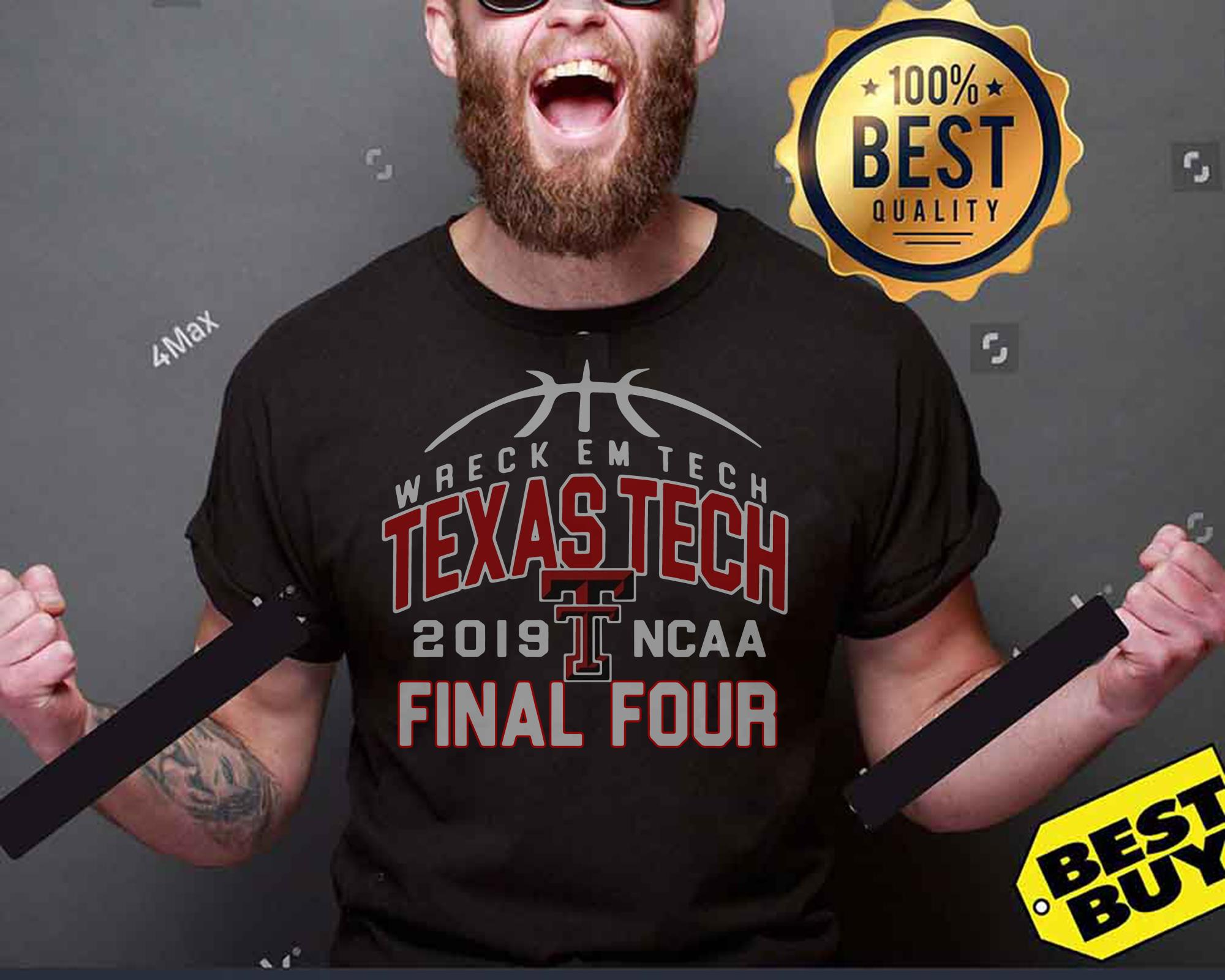 Wreckem Tech Texas Tech 2019 Ncaa Final Four tank top