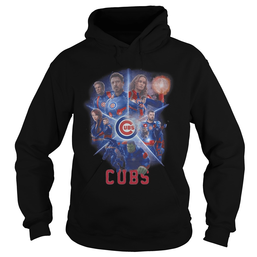 Chicago Cubs Avengers Endgame hoodie