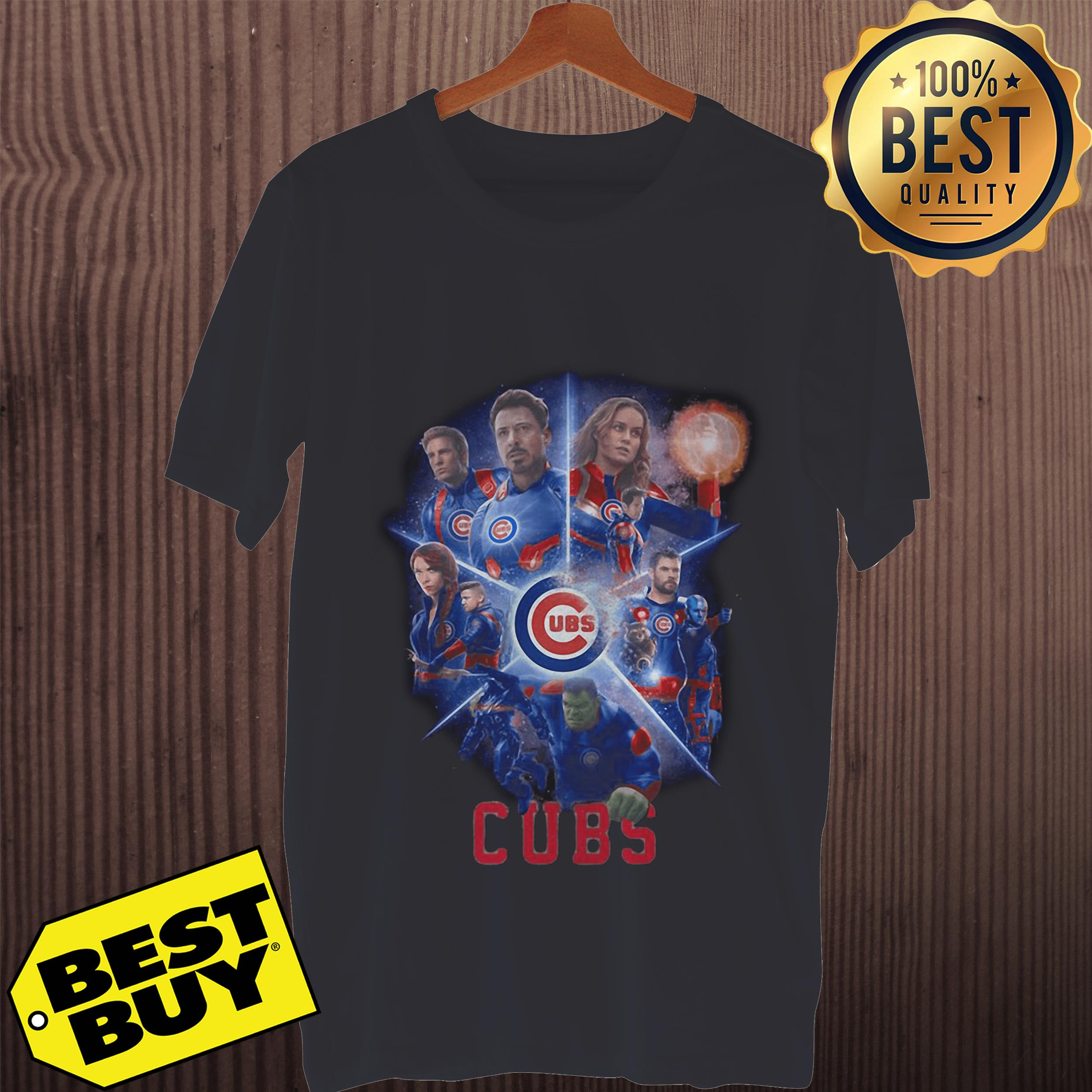 Chicago Cubs Avengers Endgame tank top